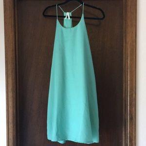 TRUTH aqua colored dress